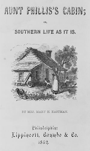 Aunt Phillis's Cabin - Title page of the 1852 edition