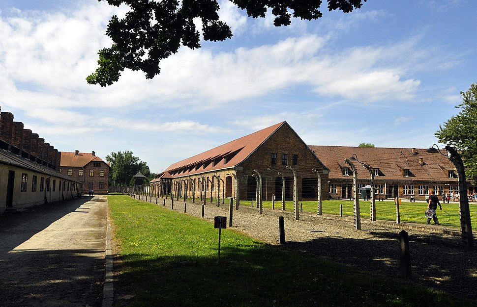Auschwitz I visitor reception centre, July 2014 (panoramio) cropped