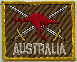 Australian contribution to UNTAC in Cambodia 1992–93 - Australian Army Patch - UNTAC