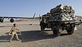 Australian airman securing a palet load in Afghanistan.jpg