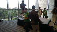 Avner and Darya's wiki Wedding at Wikimania by ovedc 40.jpg