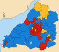 Avon County wards 1985.png