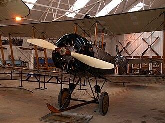 Le Rhône 9J - Le Rhône 110 hp engine installed in an airworthy Avro 504 biplane