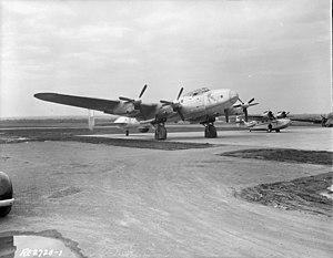 Avro Lancastrian - Image: Avro Lancastrian Aries PD328