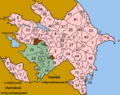 Azerbaijan districts numbered arm.png