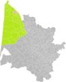 Bégadan (Gironde) dans son Arrondissement.png