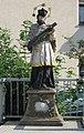 Bühlertann, Brücke über die Bühler, Statue des St. Nepomuk.JPG