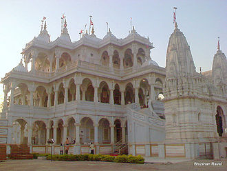 Bochasanwasi Akshar Purushottam Swaminarayan Sanstha - The BAPS Shri Swaminarayan Mandir, Sarangpur, Gujarat