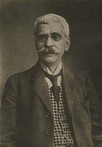 Ivan Vazov - Portrait of Vazov