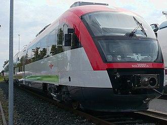 Transport in Bulgaria - A BDZ Desiro train