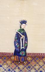 Dona xinesa del barret de perles
