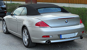 BMW 6 Series (E63) - 645Ci convertible