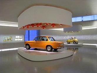 BMW Museum - Image: BMW Museum Interior 1 200905