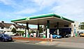 BP petrol station on Bromborough Road.jpg