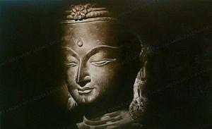 Rajasekharan Parameswaran - Image: BUDDHA BEYOND THE SOUL,OIL PAINTING