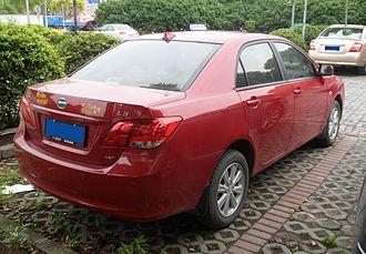 BYD L3 - Image: BYD L3 02 China 2012 05 20