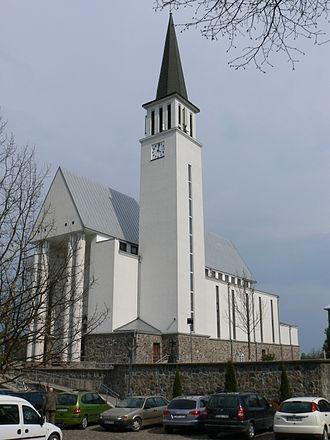 Gargždai - St. Michael Archangel Church in Gargždai