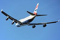 G-BNLN - B744 - British Airways