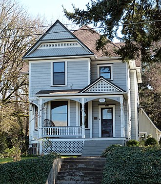 National Register of Historic Places listings in Clackamas County, Oregon - Image: Babcock House Oregon City Oregon