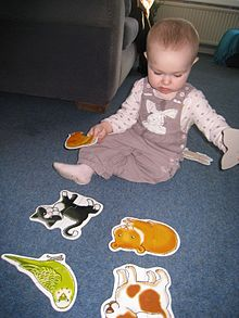 Baby doing Jigsaw Puzzles.JPG