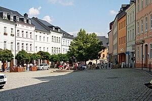 Bad Lobenstein - Market place of Bad Lobenstein