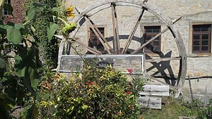 Bad Sobernheim - Former town mill – the waterwheel