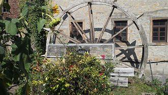 Bad Sobernheim - Former town mill – the waterwheel