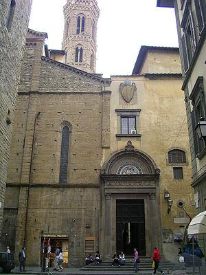 Badia Fiorentina - Entrance to Badia Fiorentina.