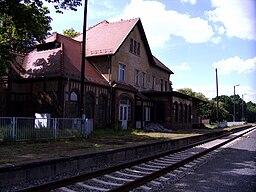 Bahnhof Wiednitz, Landkreis Bautzen in Sachsen