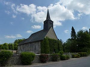 Bailleul-la-Vallée - Image: Bailleul la Vallée (Eure, Fr) église