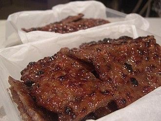 Jerky - Chinese bakkwa jerky