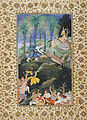 Balarama Kills Dhenukasura, Folio from a Harivamsha (Lineage of Hari, Vishnu), ca 1585-1590.jpg