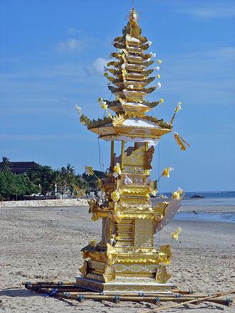 Ngaben - Image: Bali Cremation Tower