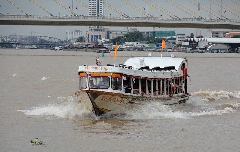 File:Bangkok, Chao Phraya Express Boat (6223565866).jpg