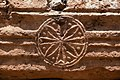 Baptistery, Bashmishli (باشمشلي), Syria - Medallion on portico entablature - PHBZ024 2016 4343 - Dumbarton Oaks.jpg