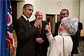 Barack Obama meets Annie Glenn, Oct. 9, 2012 (4).jpg
