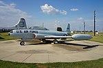 Barksdale Global Power Museum September 2015 29 (Lockheed T-33A Shooting Star).jpg