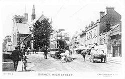 Barnet High Street with tram.jpg