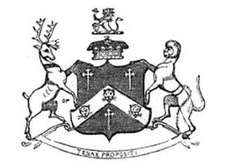 Baron Rayleigh - Baron Rayleigh Coat of Arms