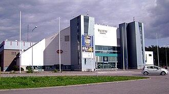 Espoo Metro Areena - Image: Barona areena
