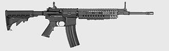 AR-15 style rifle - Image: Barrett REC7