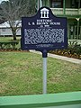 Bartow Brown LB house plaque01.jpg