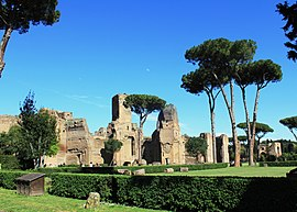 Thermes de Caracalla.