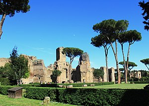 English: Ruins of the Baths of Caracalla, Rome...