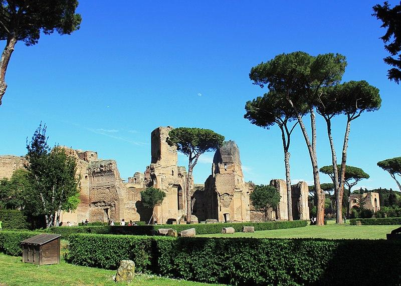 Bath of Caracalla Rome 2011 11.jpg