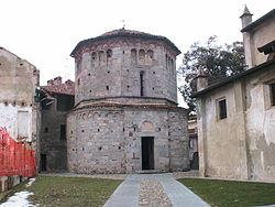 The Romanesque baptistery