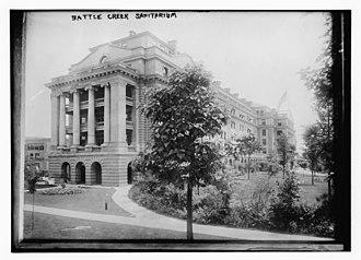 Battle Creek Sanitarium - Sanitarium circa 1915