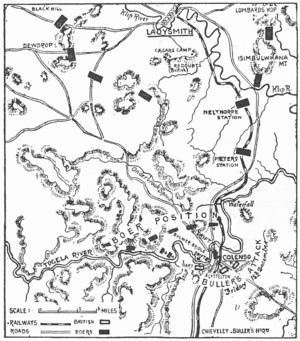 Battle of Colenso - Buller's attempt to cross the Tugela River