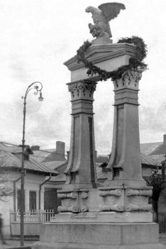 Battle of Galați - Monument to the heroes of the Battle of Galați, 1921