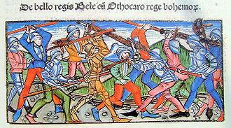 Battle of Kressenbrunn - Image: Battle of Kressenbrunn Thuróczy